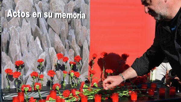 Траурная церемония в память о жертвах терактов на мадридском вокзале Аточа 11 марта 2004 года