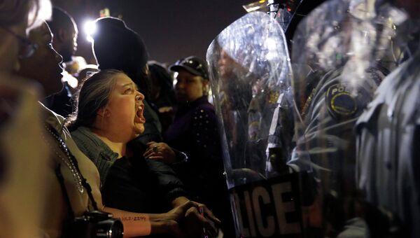 Акции протеста в Фергюсоне, США. 11 марта 2015