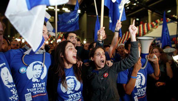 Выборы в Израиле. Оппозиционный левоцентристский блок Сионистский лагерь