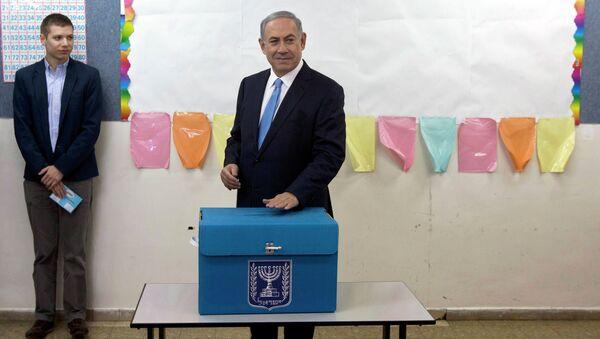 Выборы в Израиле. Биньямин Нетаньяху