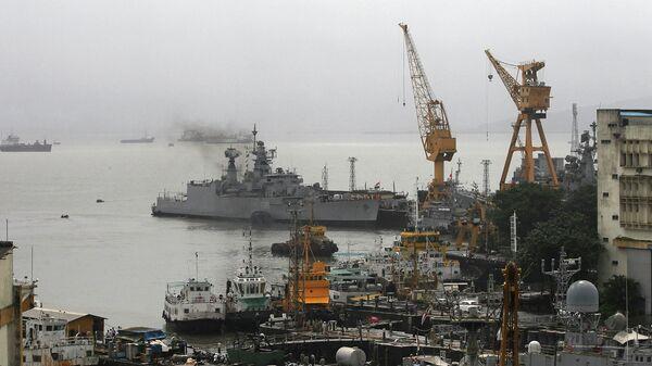 Порт города Мумбаи, Индия. Архивное фото