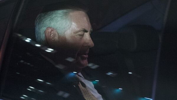 Глава американской ExxonMobil Рекс Тиллерсон. Архивное фото