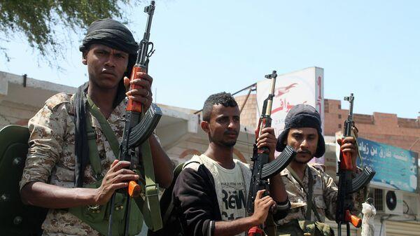 Солдаты в Йемене. Архивное фото