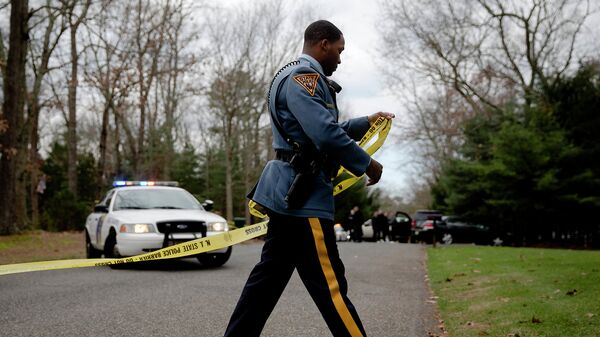 Сотрудник полиции США. Архивное фото