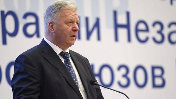 редседатель Федерации независимых профсоюзов РФ Михаил Шмаков