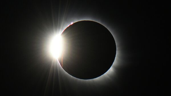 Солнечное затмение, Шпицберген,
