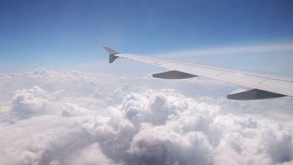 Вид из самолета Airbus A320 компании Germanwings. Архивное фото