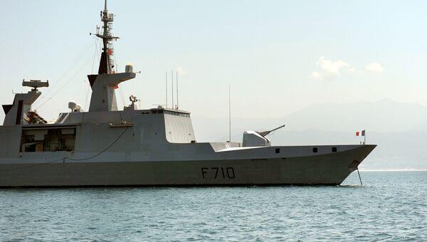 Фрегат типа La Fayette, ВМС Франции. Архивное фото