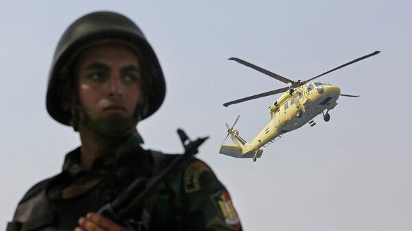 Военнослужащий египетской армии. Архивное фото