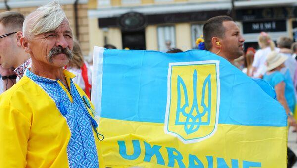 Парад вышиванок-2014 в Киеве. Архивное фото