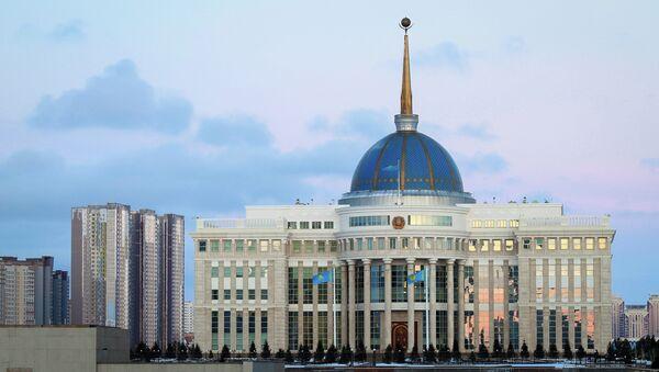 Президентский дворец в Астане. Архивное фото