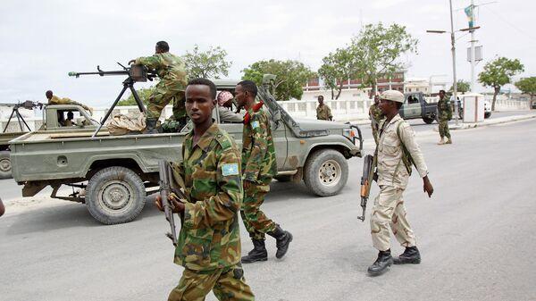 Солдаты армии Сомали