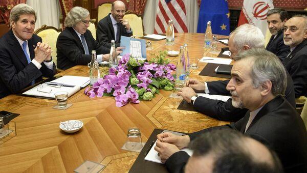 Встреча в Лозанне госсекретаря США Керри и иранских представителей, 29 марта 2015 года