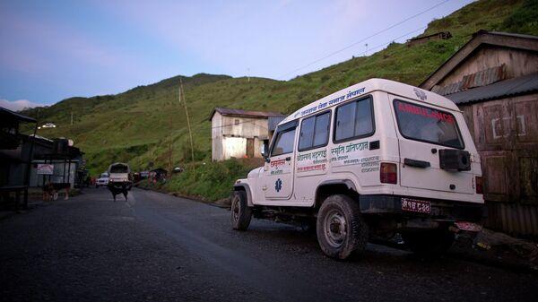 Машина скорой помощи в Непале