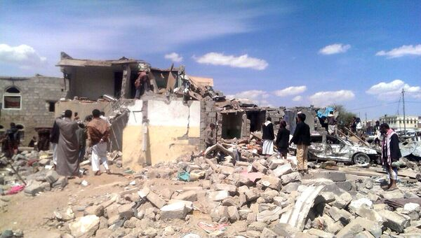 Ситуация в столице Йемена, городе Сана. Архивное фото