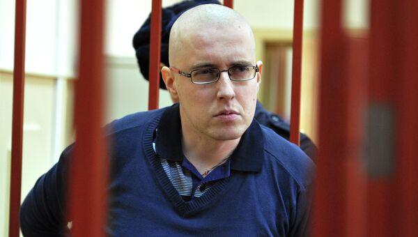 Националист Илья Горячев в суде. Архивное фото