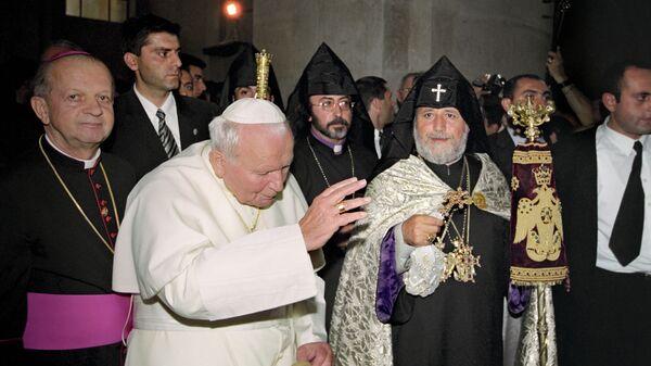 Иоанн Павел II (второй) и Гарегин II (второй)