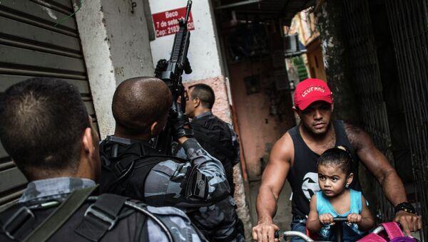Полицейские в Бразилии