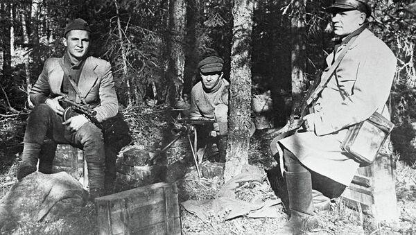 Партизаны - хозяева литовских лесов