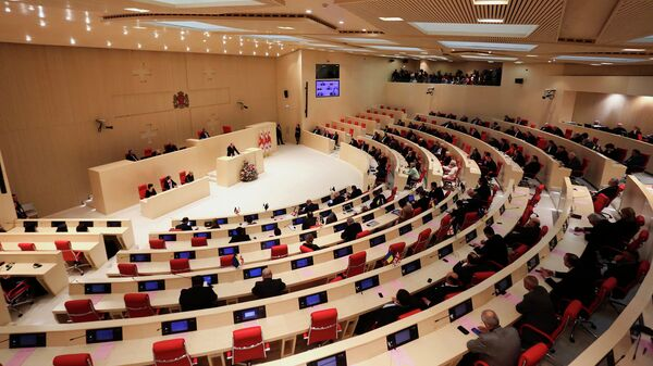 Парламент Грузии. Архивное фото