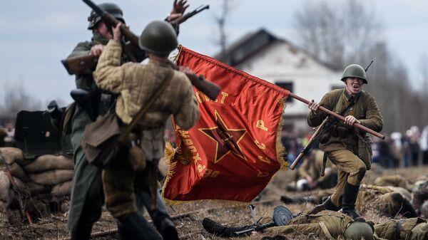 Участники фестиваля Забытый подвиг – Вторая Ударная армия в Новгородской области