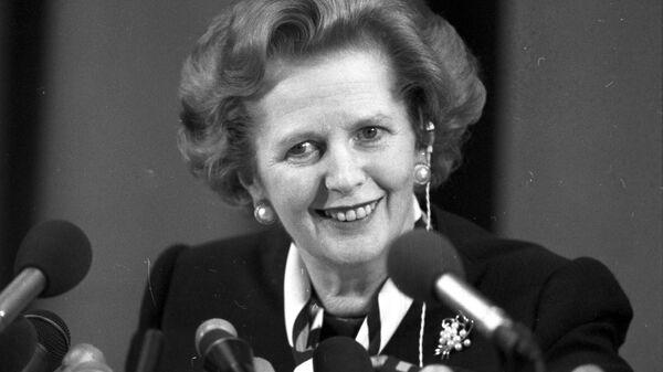 Премьер-министр Великобритании Маргарет Тэтчер
