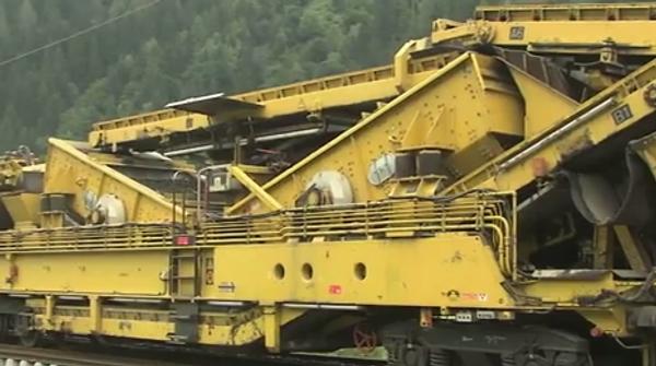 Машина для прокладывания железной дороги