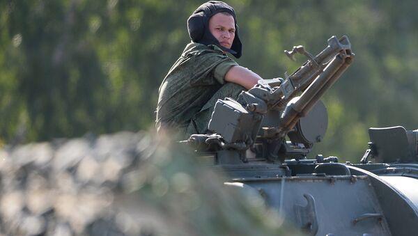 Военнослужащий мотострелковой дивизии. Архивное фото