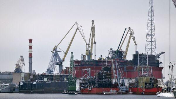 Судоремонтный завод Звездочка в Северодвинске