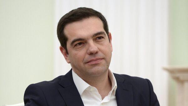 Премьер-министр Греции Алексис Ципрас в Москве