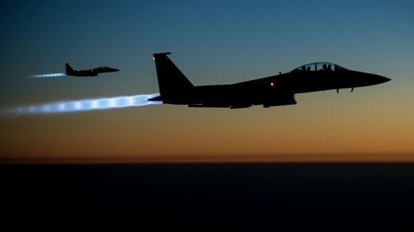 Американские истребители F-15. Архивное фото