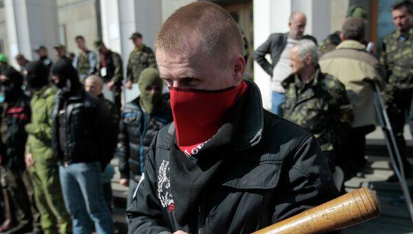 Активисты радикальной организации Правый сектор. Архивное фото