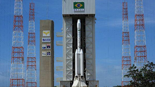 Запуск ракеты с космодрома Алкантара, Бразилия