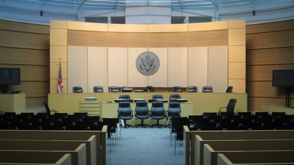 Зал судебных заседаний в Фениксе, США