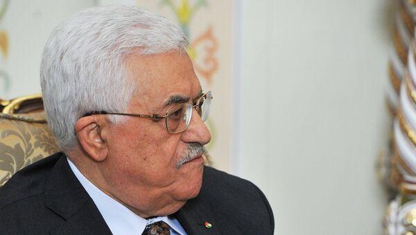 Президент Палестины Махмуд Аббас. Архивное фото.