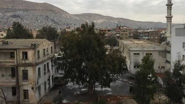 Вид на старый Дамаск