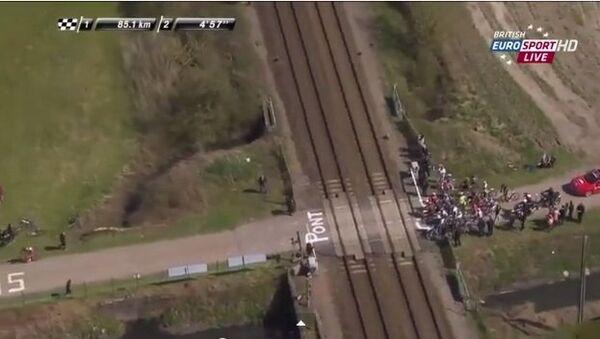 Скоростной поезд шокировал Париж-Рубе