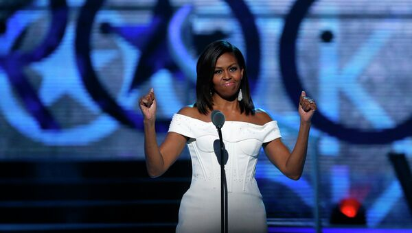 Первая леди США Мишель Обама. Архивное фото