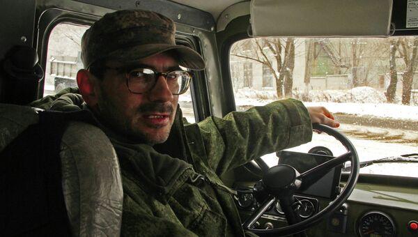 Журналист телеканала Звезда ранен в Донбассе. Архивное фото