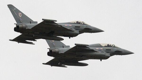 Истребители Тайфун британских королевских ВВС