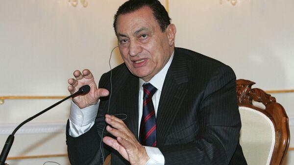 Бывший президент Египта Хосни Мубарак. Архивное фото