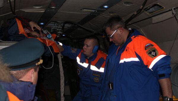 Пострадавших в ДТП в Ленинградской области вертолеты МЧС России доставляют в Петербург