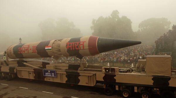 Баллистическая ракета Agni-III