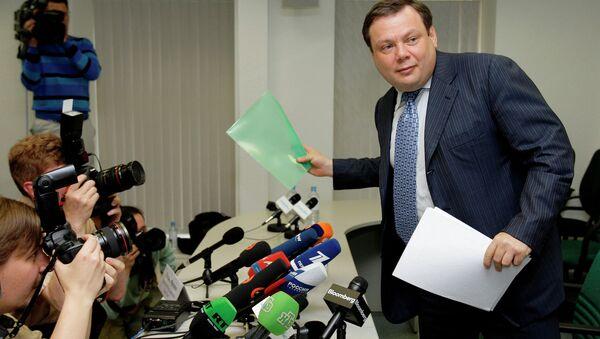 Российский предприниматель Михаил Фридман. Архивное фото