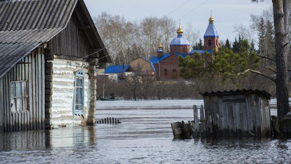 Паводок в Омской области. Архивное фото