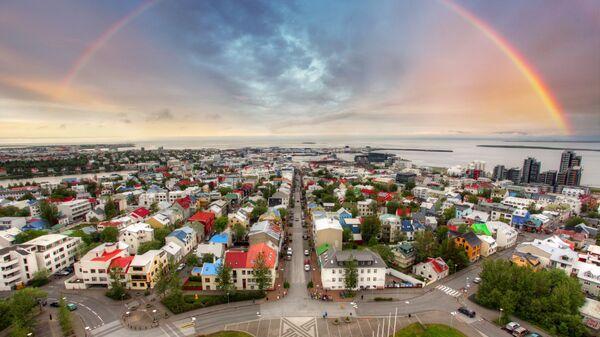 Рейкьявик, Исландия.Архивное фото