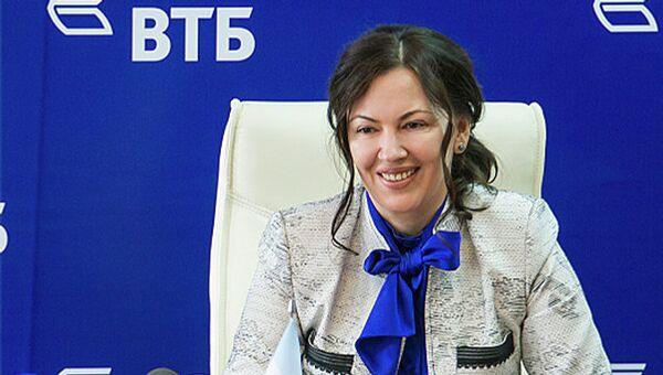 Руководитель  дирекции банка ВТБ по Кемеровской области Анжелика Рогожкина