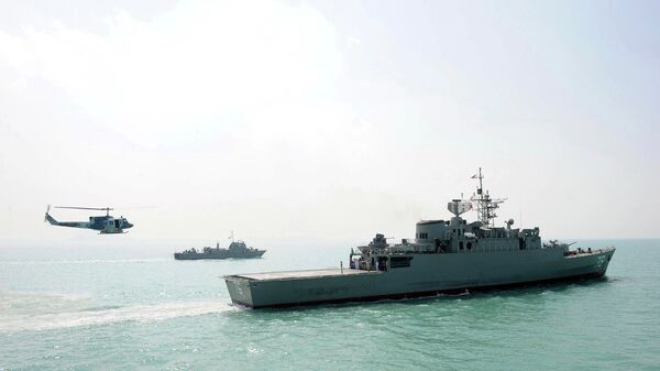 Корабли ВМС Ирана. Архивное фото