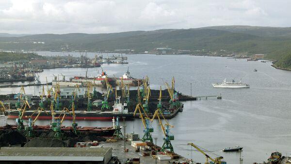 Морской порт, Архивное фото