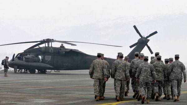 Вертолеты НАТО в Подгорице, Черногория